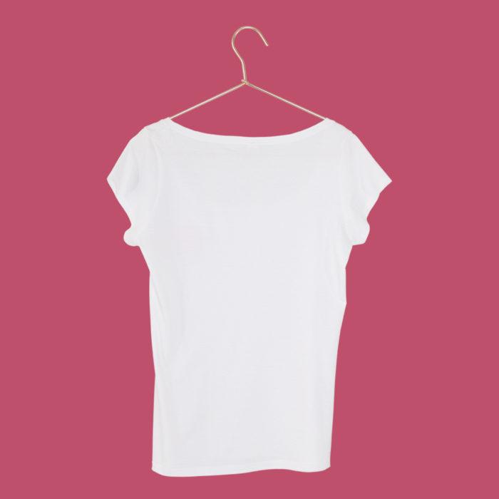 T-Shirt Lippenstift Damen hinten SEAN & LINA