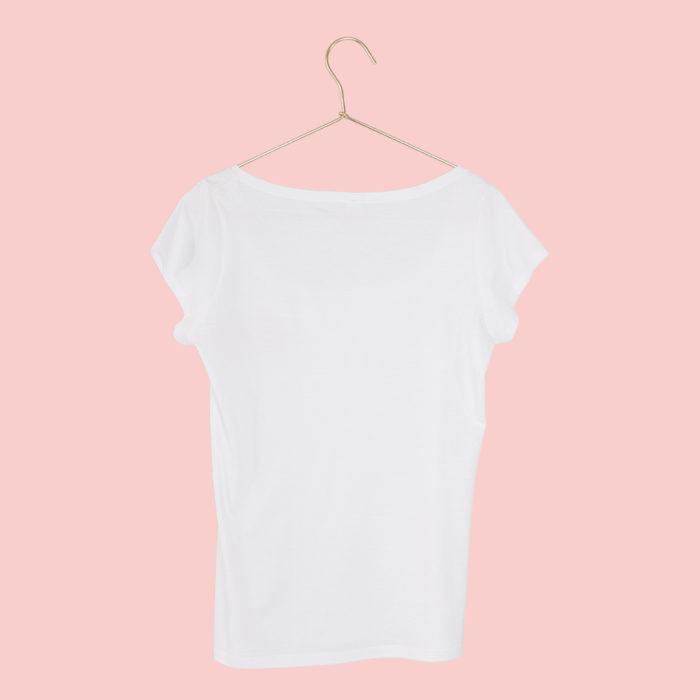 T-Shirt Lotusblume Damen hinten SEAN & LINA