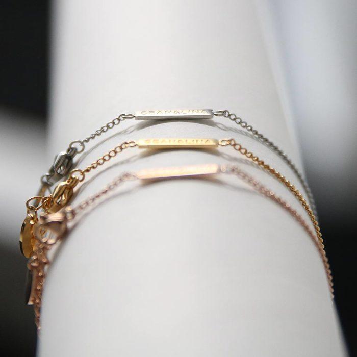 "Armkette ""Rising"" silber SEAN & LINA"