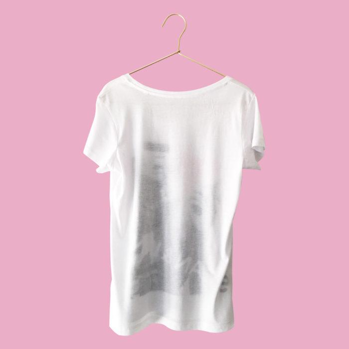 """T-Shirt Damen """"Empire"""" hinten"""